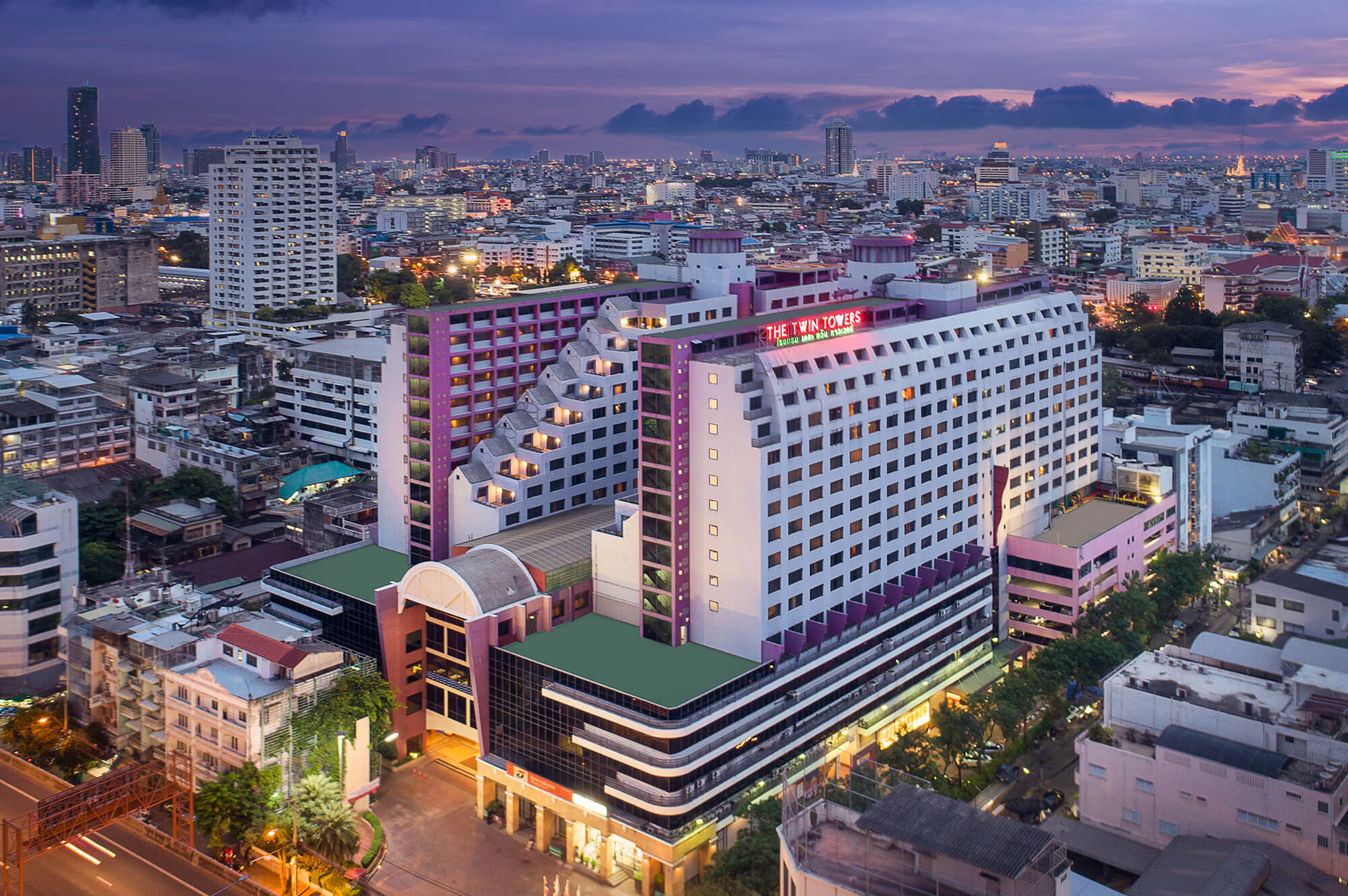 The Twin Towers Hotel Bangkok